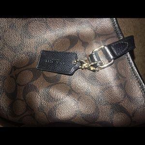 Coach Bags - Black/ brown Coach purse
